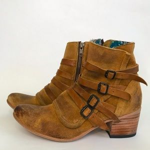 Freebird by Steven Wesson Distressed Leather Boot